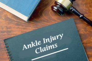 Ankle injury claims process