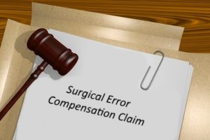 Claiming compensation for surgical error