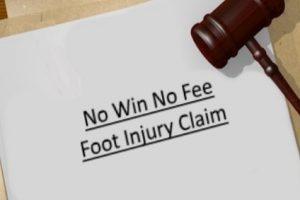 No win no fee foot injury claim