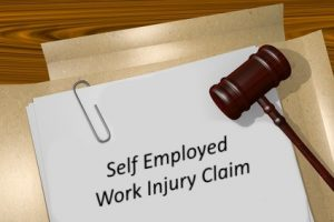 Self employed work injury claim
