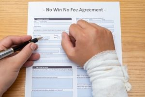 No win no fee wrist injury claim
