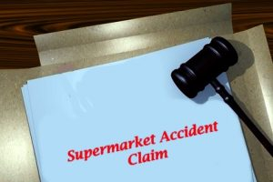 Supermarket accident claims process