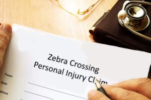 Zebra crossing injury claim