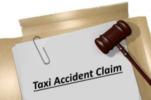 Taxi accident- claims process