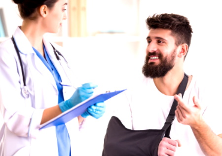 Broken forearm injury compensation