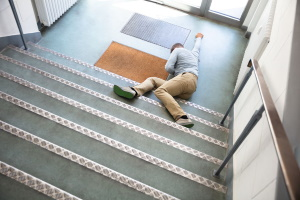 Fall down stairs at work compensation claims guide