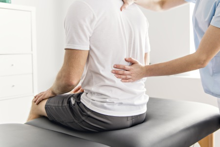 Slipped disc injury compensation