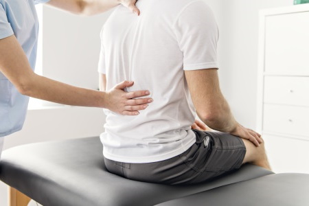 Back injury caused by a car accident compensation