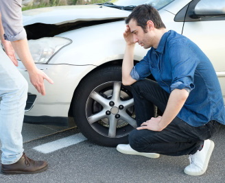 I had a rear end car accident who pays the excess fees guide