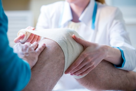 Knee injury at work claims guide