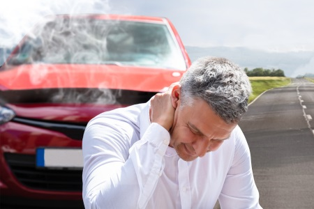 What should I do if I get injured in a car accident guide