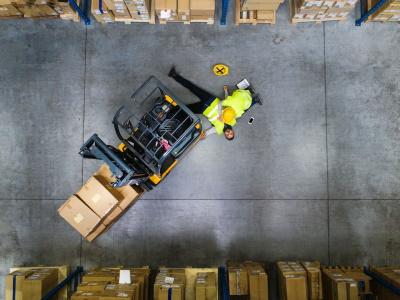 Forklift truck accident claim